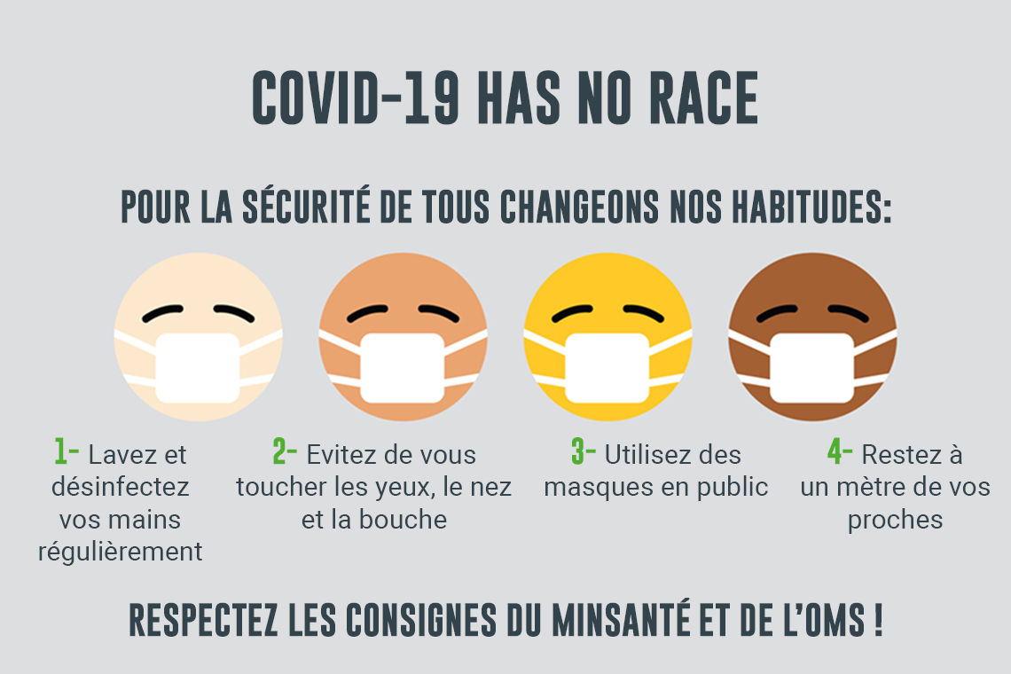 Covid-19 has no race